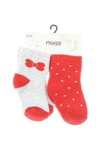 Panço Kız Bebek 2 li Çorap 1723633108 Renksiz